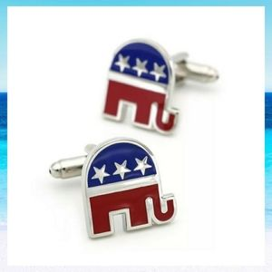 Other - Republican Party Elephant Cufflinks